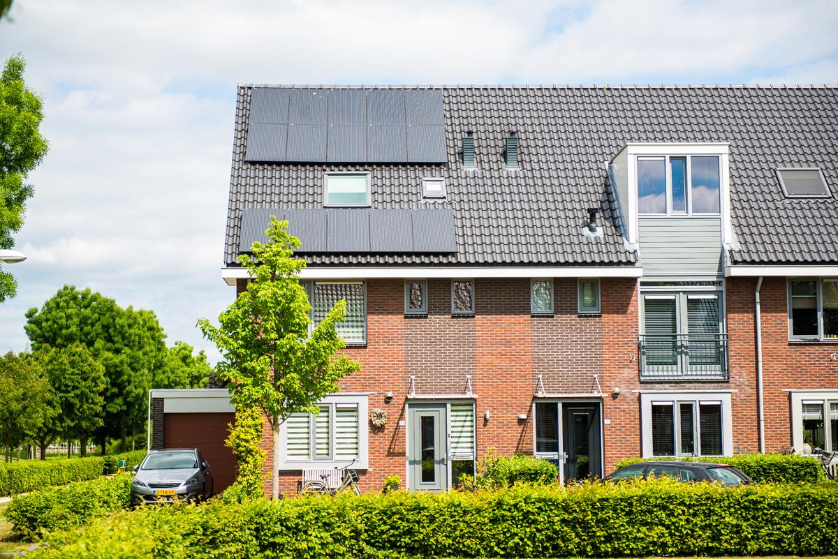 Zonnepanelen omgeving Barneveld
